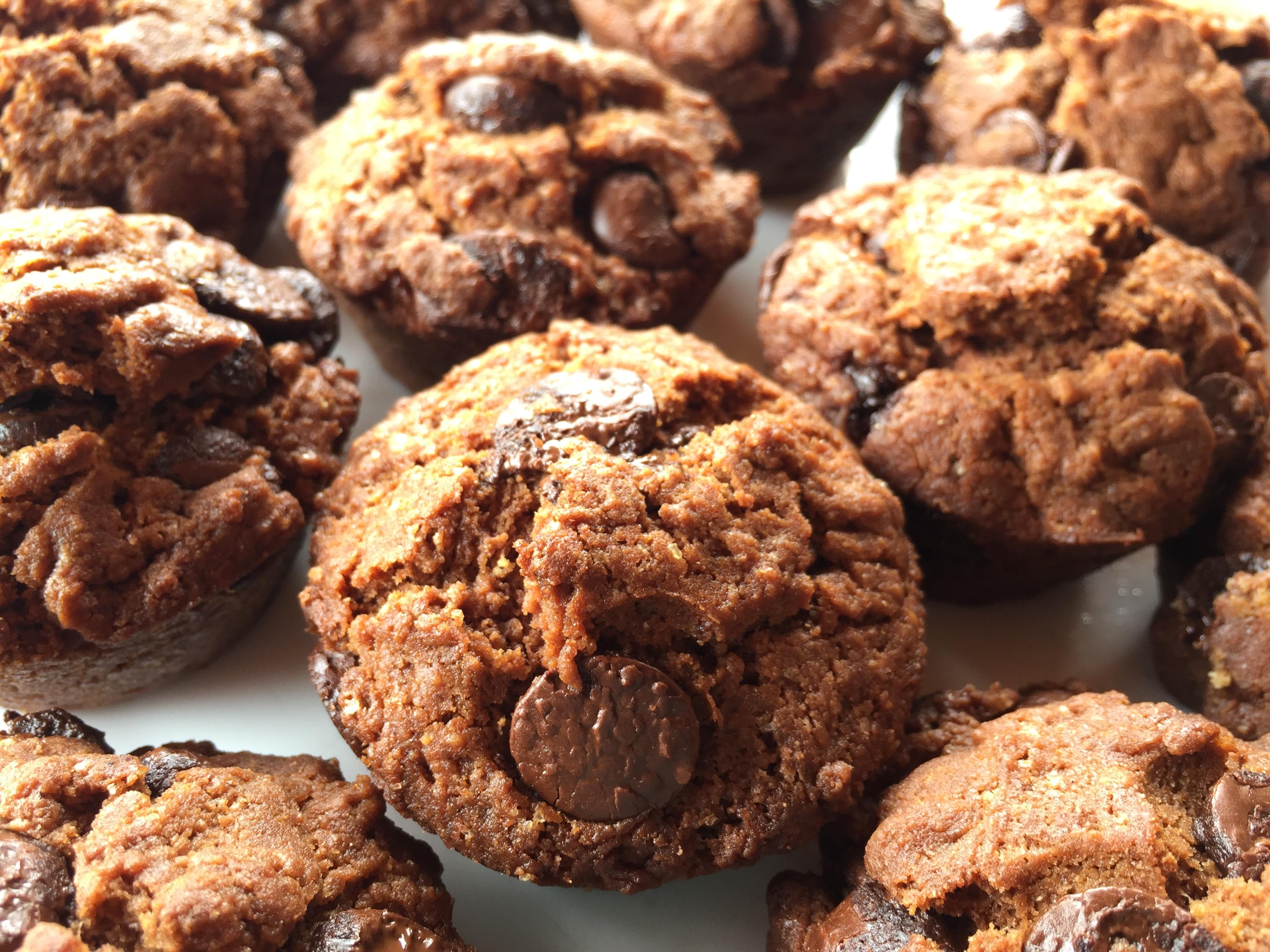 Čokoladni mafini brez glutena