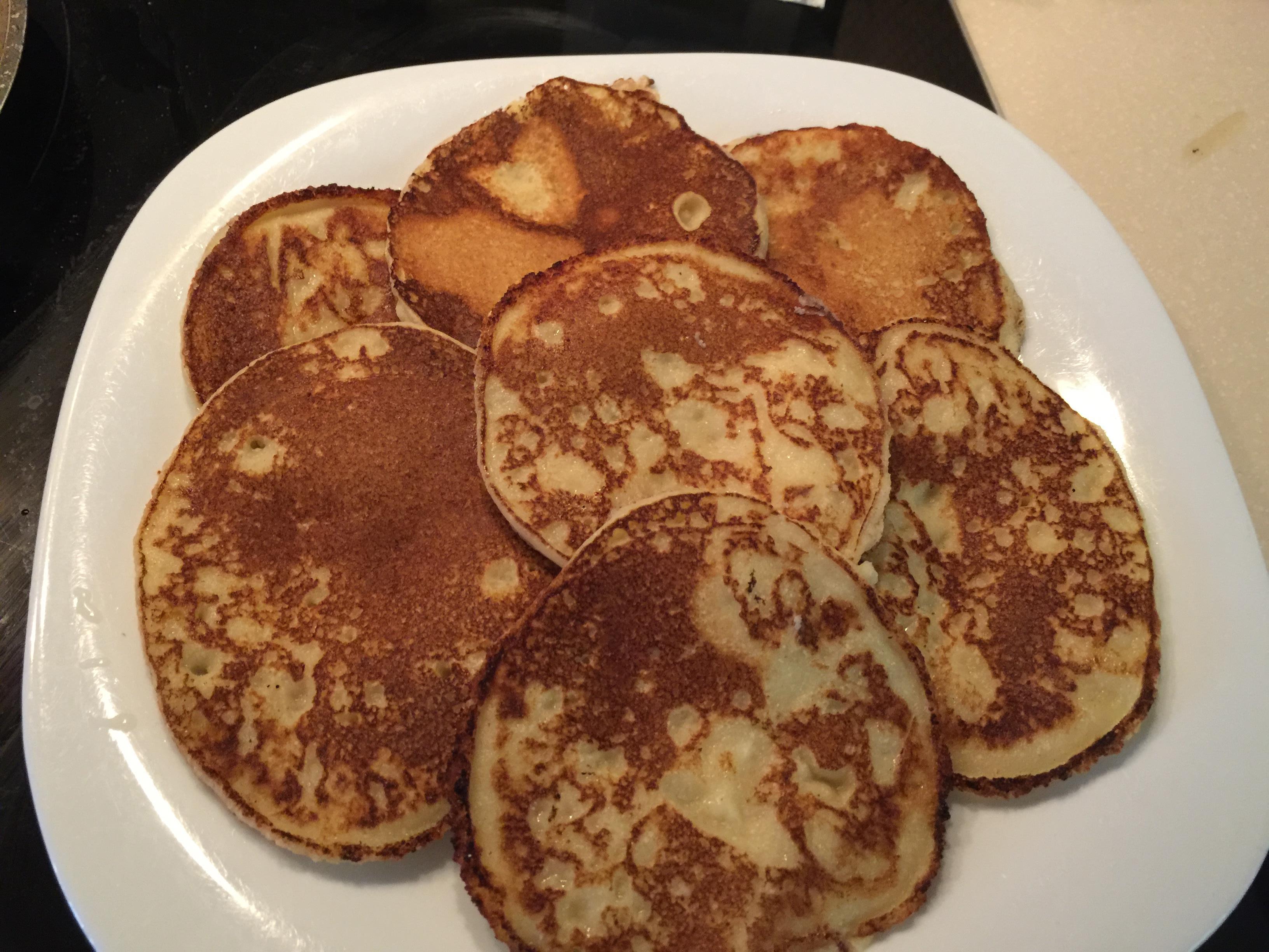 Tapiokine palačinke brez glutena