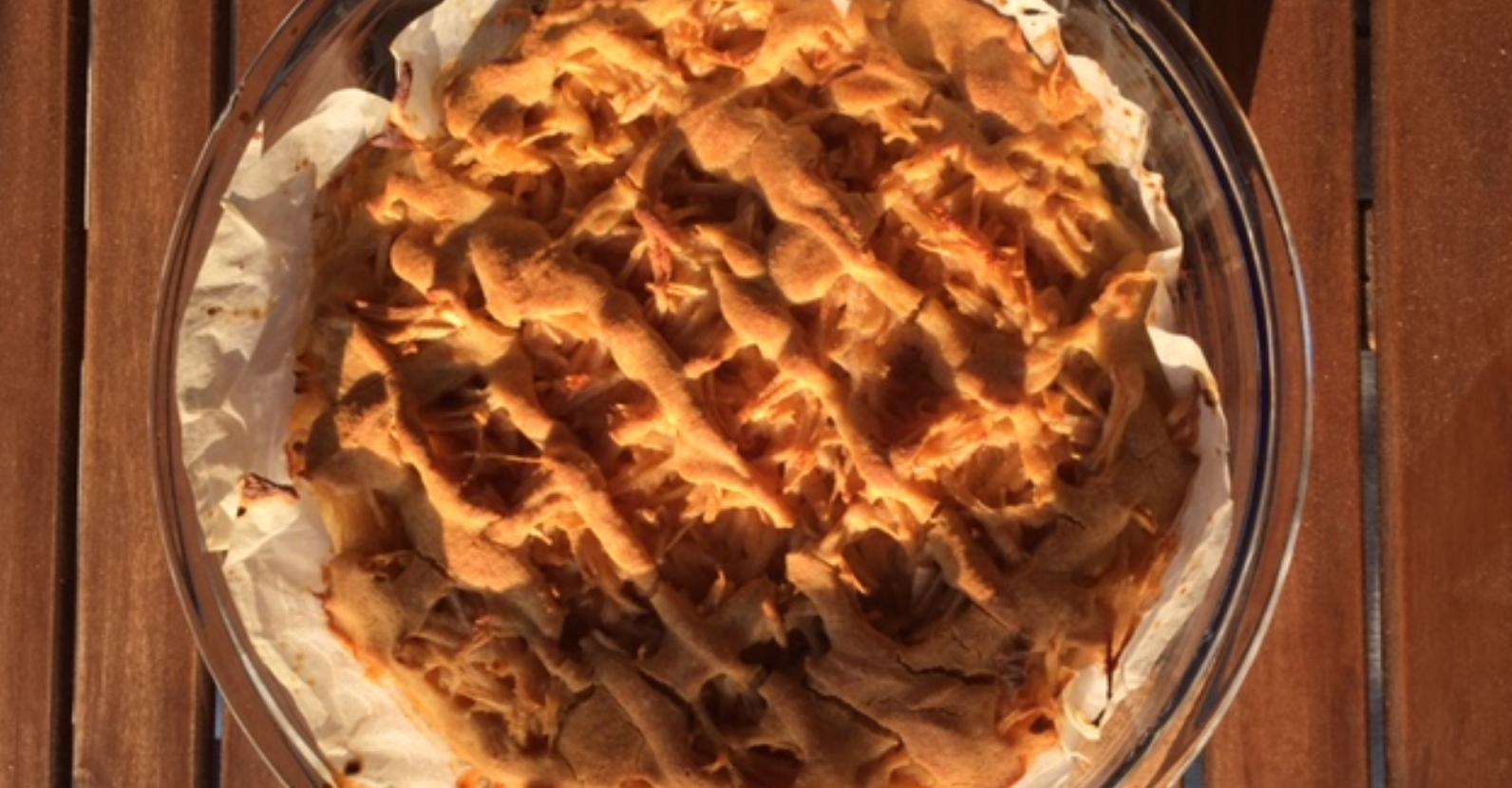 Prosena pita z jabolki