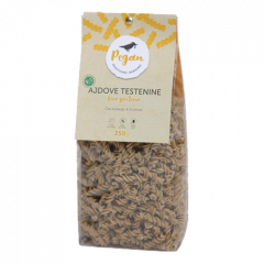 Eko testenine iz ajde in zlatih lanenih semen