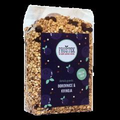 Granola z borovnicami in kvinojo
