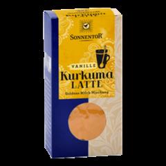 Eko kurkumin latte z vanilijo