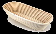 Vzhajalna košarica za kruh podolgovata 500 g