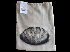 Lanena vrečka za kruh