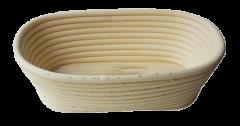 Vzhajalna košarica za kruh - ovalna