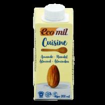 Eko mandljeva smetana za kuhanje